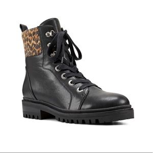 Nine West Wylie Women's Combat Boots Size 7.5
